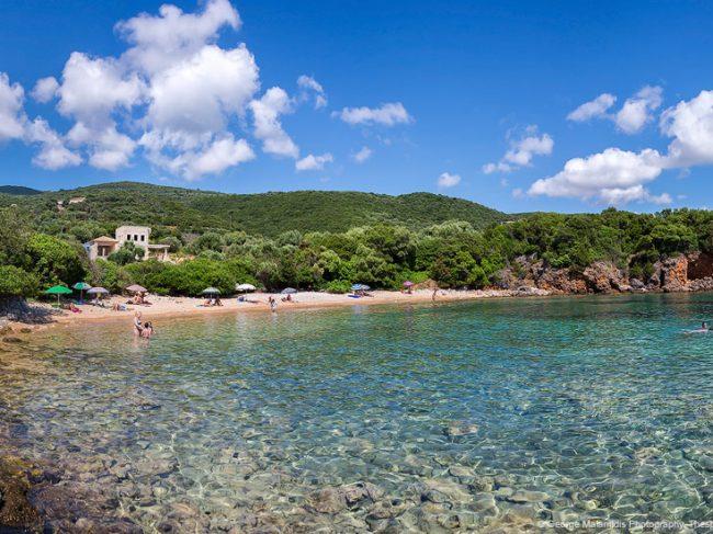 Παραλία Αγκάλη – Πέρδικα – Θεσπρωτία