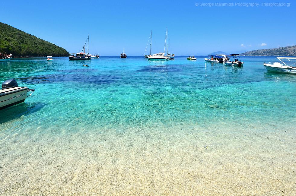 Παραλία Πισίνα Σύβοτα