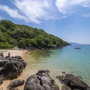 Παραλία Ζάβια - Σύβοτα