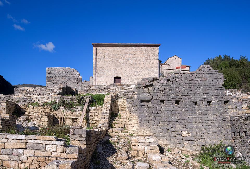 Μεταβυζαντινή Ακρόπολη Οσδίνας