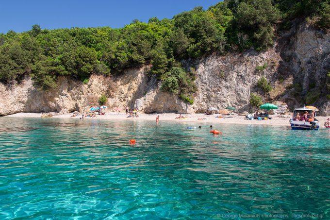 Pisina Beach – Sivota Thesprotia – The Blue Lagoon