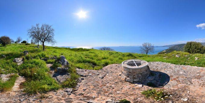 Δυμόκαστρο (Αρχαία Ελίνα) – Πέρδικα Θεσπρωτίας