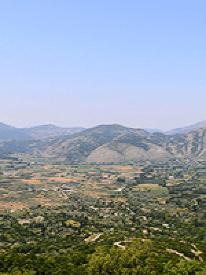 Πανόραμα Κοιλάδα Παραμυθιάς – Θεσπρωτία