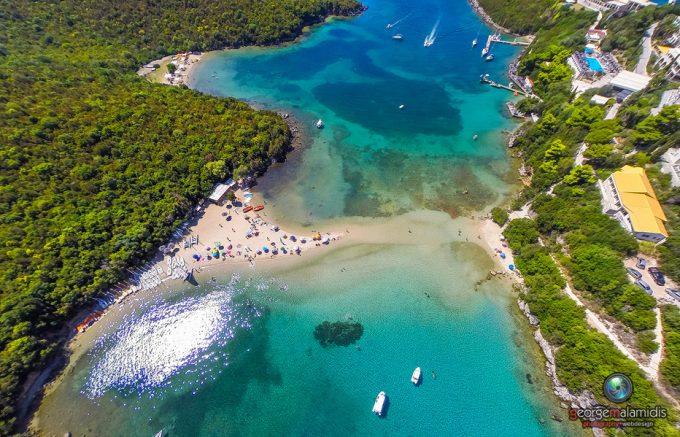 Παραλία Μπέλλα Βράκα – Σύβοτα Θεσπρωτίας