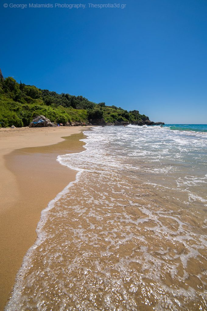 Παραλία Πράπα Μάλι – Πέρδικα Θεσπρωτίας